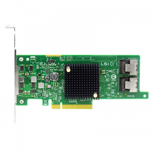 LSI SAS 9207-8i 8-port internal 6Gb/s SAS+SATA to PCI Express Host Bus Adapter