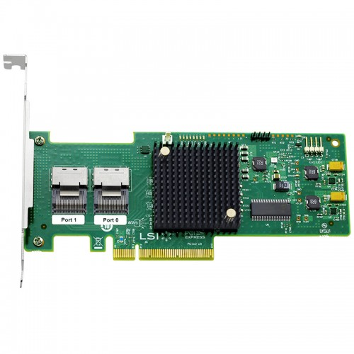 LSI SAS 9210-8i 8-port internal 6Gb/s SAS+SATA to PCI Express Host Bus Adapter