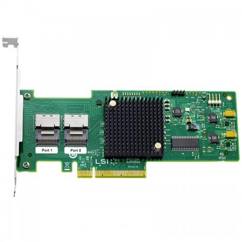 LSI SAS 9210-8i 8-port internal 6Gb/s SAS+SATA to PCI Express Host Bus Adapter