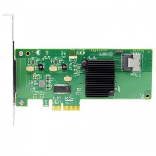 LSI SAS 9211-4i 4-port internal 6Gb/s SAS+SATA to PCI Express Host Bus Adapter