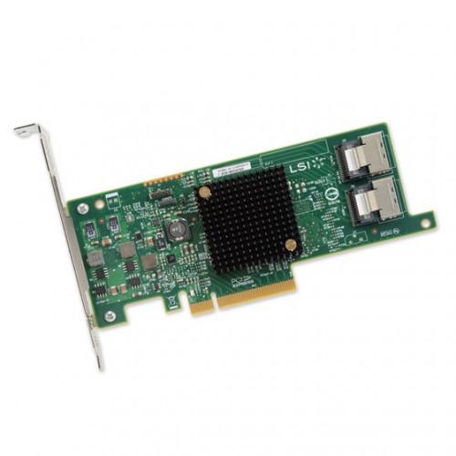 LSI SAS 9217-8i 8-port internal 6Gb/s SAS+SATA to PCI Express Host Bus Adapter