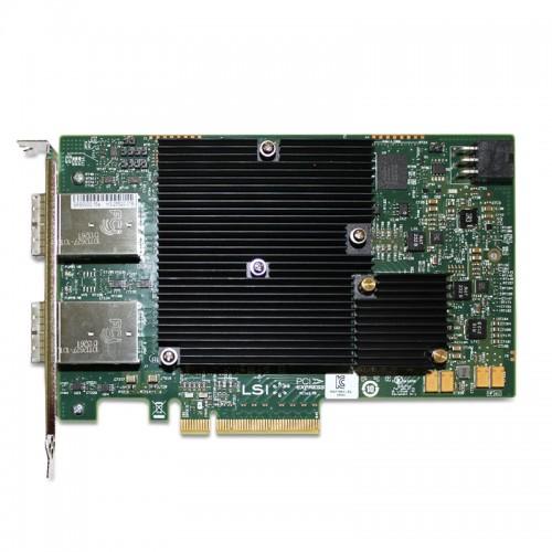 LSI SAS 9300-16e PCI Express to 16-port external 12Gb/s SAS+SATA Host Bus Adapter