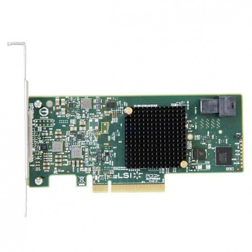 LSI SAS 9300-4i PCI Express to 4-port internal 12Gb/s SAS+SATA Host Bus Adapter