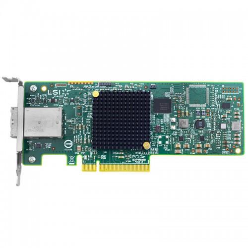 LSI SAS 9300-8e PCI Express to 8-port external 12Gb/s SAS+SATA Host Bus Adapter