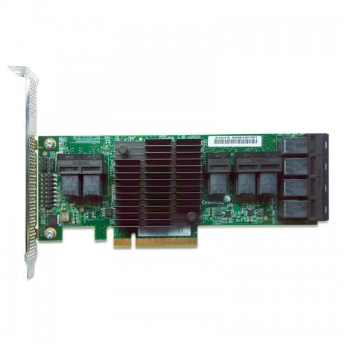 LSI SAS 9305-24i PCI Express to 24-port internal 12Gb/s SAS+SATA Host Bus Adapter