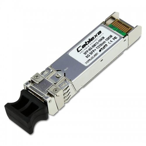 Cablexa SFP+, 8.5Gb/s, 8G/4G/2G FC, SMF, 1310nm, Duplex LC, 10KM Transceiver Module