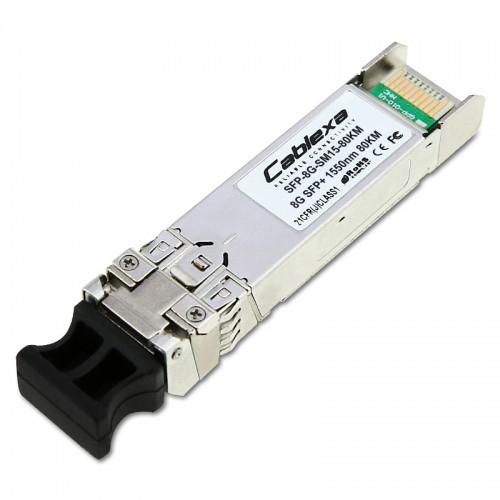 Cablexa SFP+, 8.5Gb/s, 8G/4G/2G FC, SMF, 1550nm, Duplex LC, 80KM  Transceiver Module