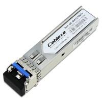 Cablexa SFP, 1.25Gb/s, 1000BASE-LX, SMF, 1310nm, Duplex LC, 10KM Transceiver Module