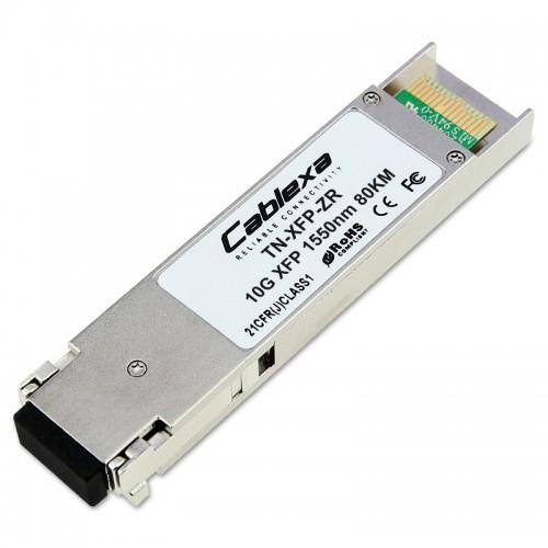 Transition Networks TN-XFP-ZR, 10GBase-ZR/10G Fibre Channel, XFP w/Digital Diagnostics (DMI) 1550nm (LC) [80 km/49.7 mi.] Link Budget: 23.0 dB